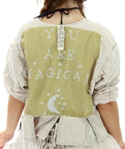 Magnolia Pearl Cotton Satin Binky Jacket 488 Cotton Candy