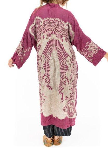 Magnolia Pearl Blessed Kimono Jacket 505 Hibiscus