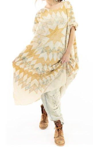 Magnolia Pearl Quiltwork Artist Smock Dress 766 Marisol