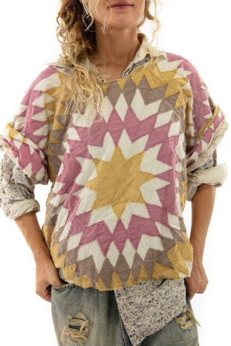 Magnolia Pearl Quilted Matlida Top 1070 Echo