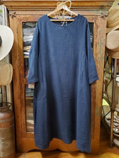 Metta Melbourne Olive Dress 5551 Ink
