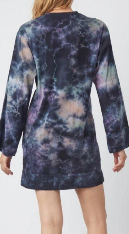 Raquel Allegra Phoebe Sleeve Shift Y214-8507 Nebula Cloud TD