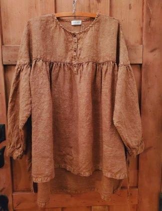 Krista Larson Edwardian Shirt 2328 Fawn