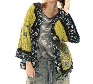 Magnolia Pearl Isabeau Kimono Jacket 493 Agave