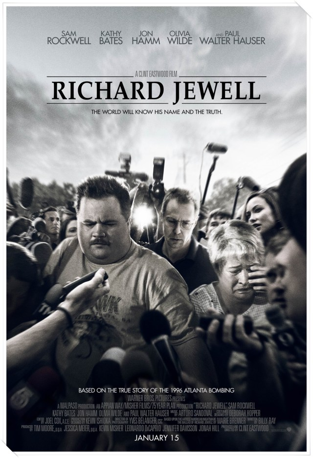 Image result for richard jewell movie poster 2020