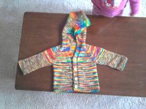 Iris' Rainbow Cardigan
