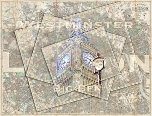 big ben postcardsm