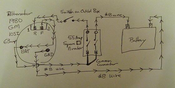 Generator Alternator Wiring Diagram On Generator Download Wirning ...