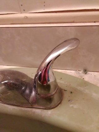 slob, humor, faulty faucet