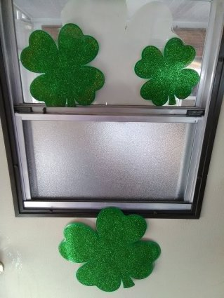 slob, humor, door shamrocks