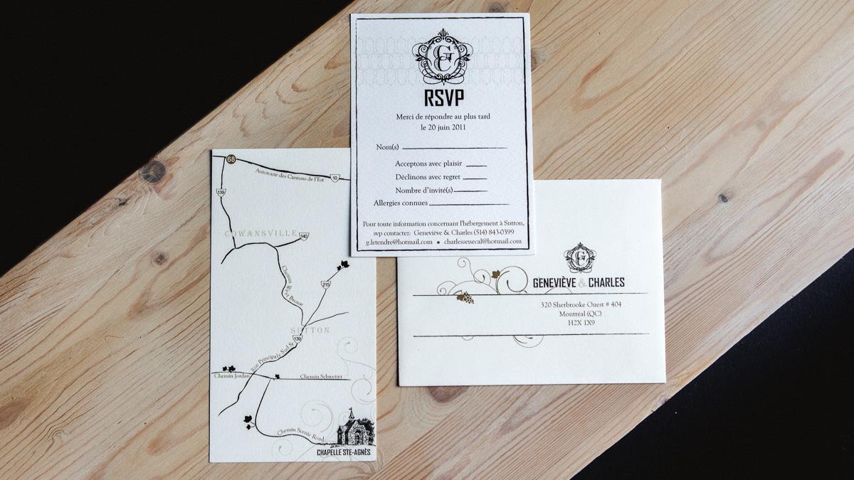 Custom Invitations Montreal