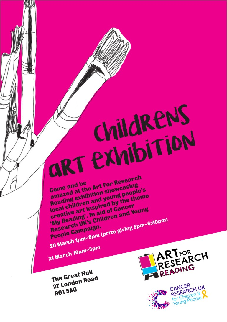 Poster For Art for Research Reading Exhibition and Prize giving