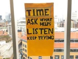 TALK Poster inclusive workshop at Tate Modern