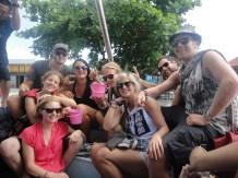 Boat rides in Thailand