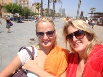 Roxy and I in Barca
