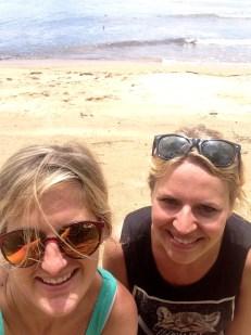 Innisfail beach with Hayley