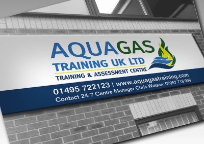 AquaGas Logo Design