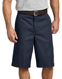 "13"" LOOSE FIT MULTI-USE POCKET WORK SHORTS (DARK NAVY)"