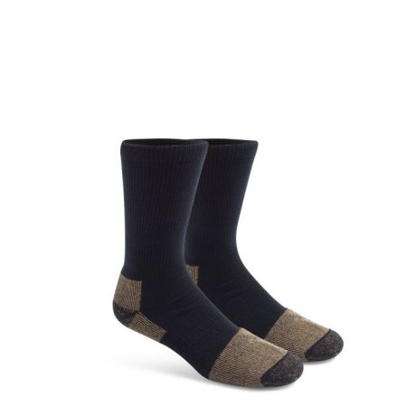 SOCKS 2PK BLACK