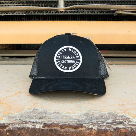 360 DHCM CURVED BRIM BLACK