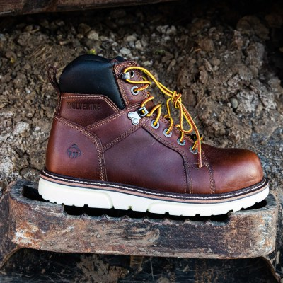 6″ I-90 Durashock Wedge Work Boot (Comp Toe)