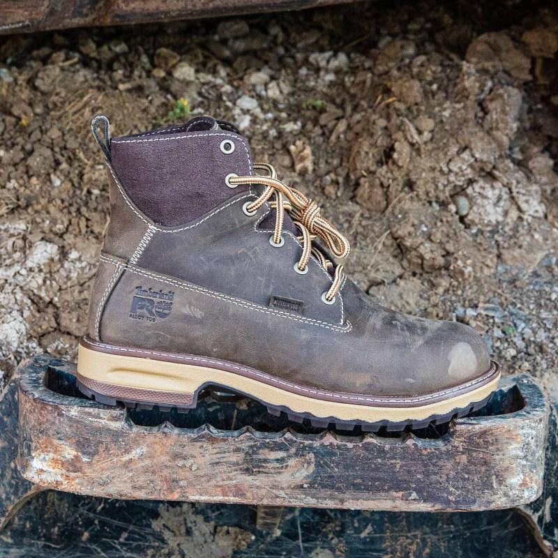 "Hightower 6"" Alloy Toe Work Boots"