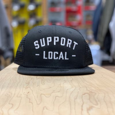 Support Local Meshback (Black / White)