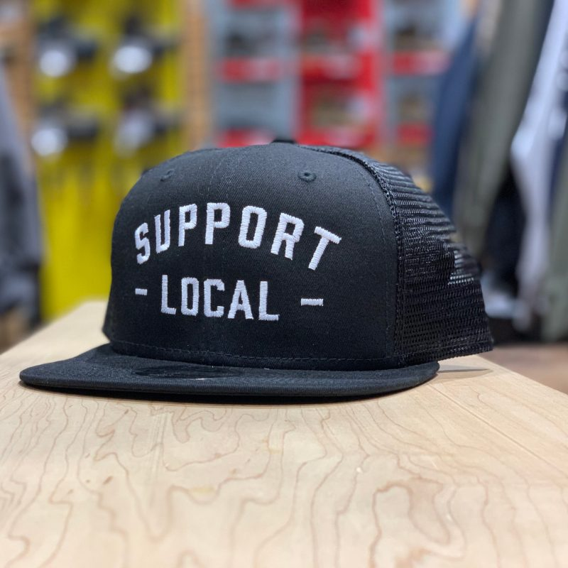 SUPPORT LOCAL MESHBACK (BLK/WHT)