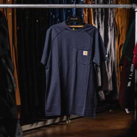 FORCE COTTON SS T SHIRT NVY