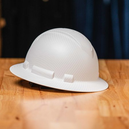 RIDGELINE FULL BRIM HARD HAT (MATTE WHITE)