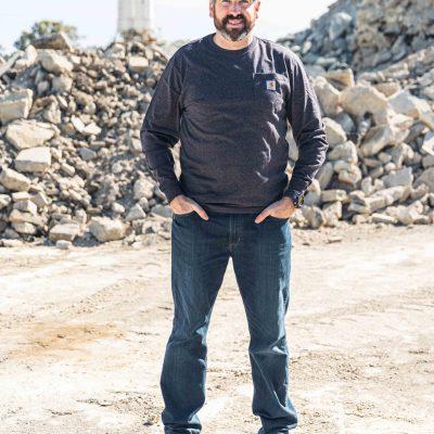 Workwear Long Sleeve Pocket T-Shirt (Carbon)