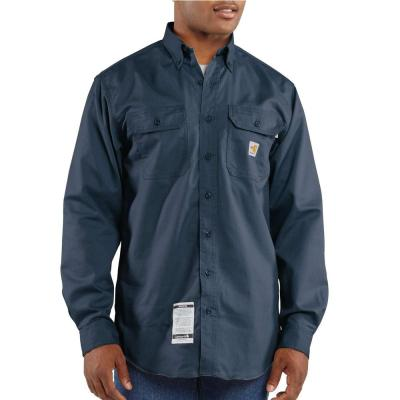 Flame Resistant Twill Shirt (Navy)