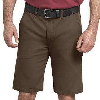 "11"" TOUGH MAX DUCK CARPENTER SHORTS (STONEWASHED TIMBER BROWN)"