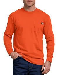 Long Sleeve Heavyweight Crew (Orange)