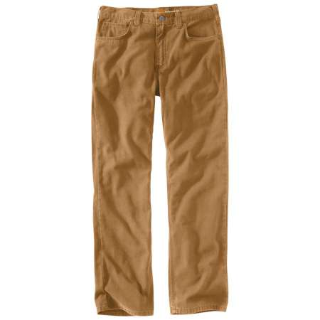 RUGGED FLEX® RIGBY 5-POCKET WORK PANT (HICKORY)