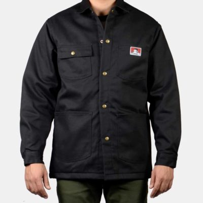 Original Snap Front Jacket (Black)