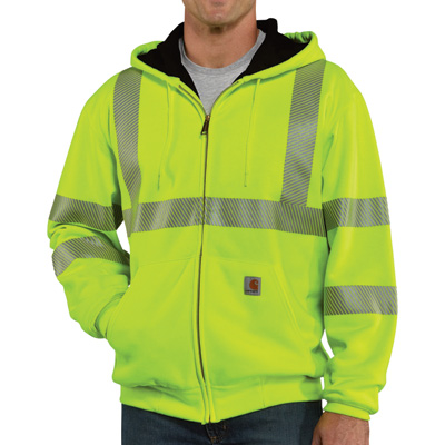 High Visibility Class 3 Thermal Sweatshirt (Brite Lime)