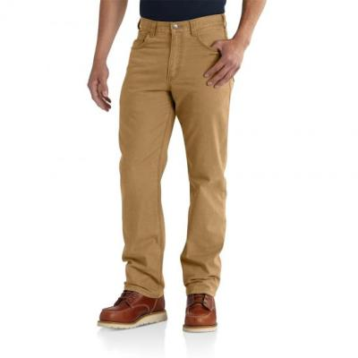 Rugged Flex Rigby 5-Pocket Work Pant (Hickory)
