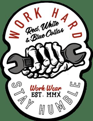 Work Hard Stay Humble Sticker