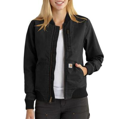 CRAWFORD BOMBER JACKET – BLACK