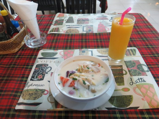 Coconut-based chicken soup dish I forget the name of. So good, July 28, 2016