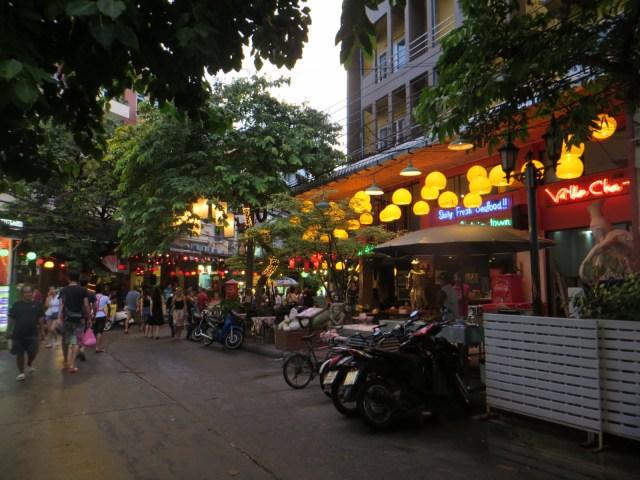 Famous Khao San Road, September 1, 2016
