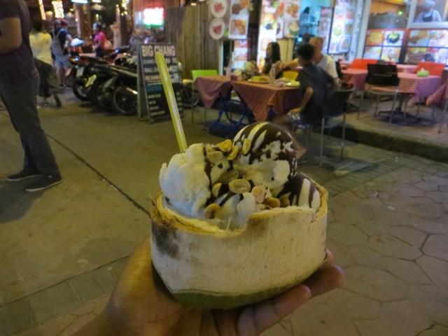 Coconut ice cream, September 1, 2016