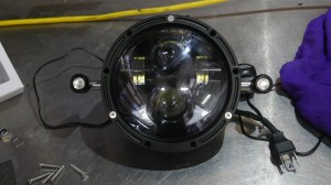 Installing a Flashpoint LED Headlight with Integrated turn