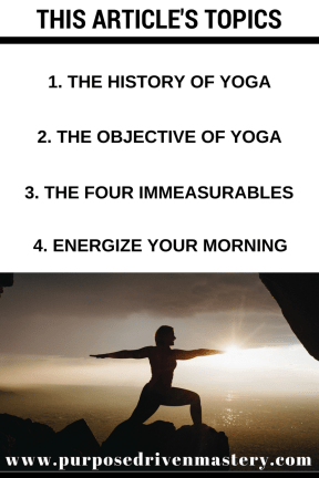 Yoga - Purpose Driven Mastery