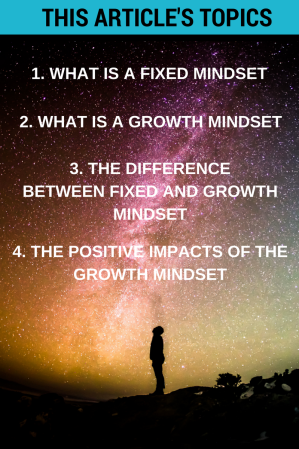 Mindset: Adopt the Growth Mindset and You Will Go Far In Life