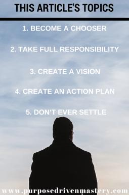 Chooser: Purpose Driven Mastery