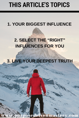 Influence - Purpose Driven Mastery