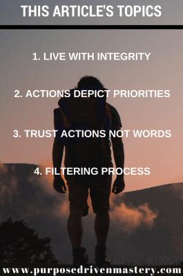 Integrity - Purpose Driven Mastery