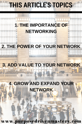 Networking - Purpose Driven Mastery